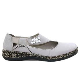 Rieker Grey  Harmaa - Kävelykengät - 46370-42 - 1 3f8f04b2fa