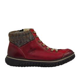 Rieker Punainen - Nilkkurit - Z4243-35 - 1 67e3f1c997